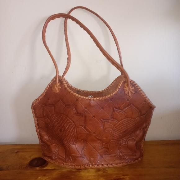 Vintage Handcrafted Leather Bag